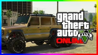 "GTA 5 NEW ""Dubsta 6x6"" Hipster DLC Dubsta Car In GTA 5"