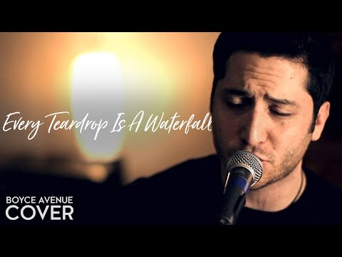 Every Teardrop Is A Waterfall - Coldplay (Boyce Avenue acoustic cover) on iTunes