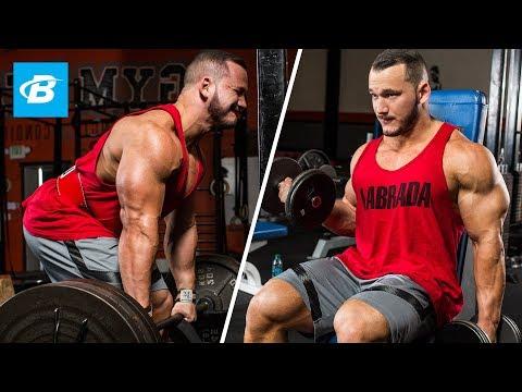High-Volume Back & Biceps Workout | Hunter Labrada