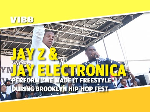 Jay Electronica Brings Out Jay Z in Brooklyn