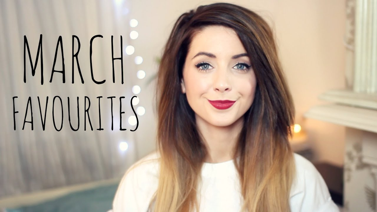 March Favourites | Zoella - YouTube