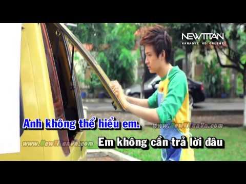 Karaoke Là Người Em Đã Yêu   Ngô Kiến Huy    NewTitan    Karaoke HD Online