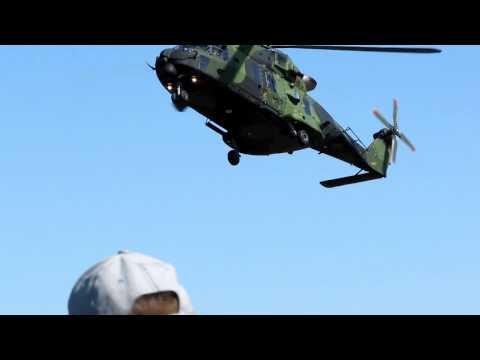 NH90, airshow, 13.5.2011, Utti, Finland