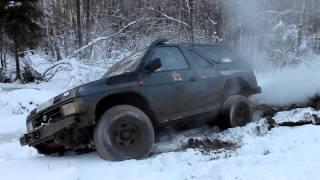Nissan Terrano 1 ft NIVA  Дубна поездка к Шару