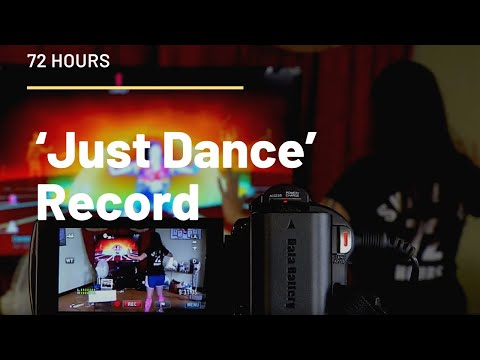 Carrie Swidecki Sets 72 Hour 'Just Dance' Record To Fight Childhood Obesity