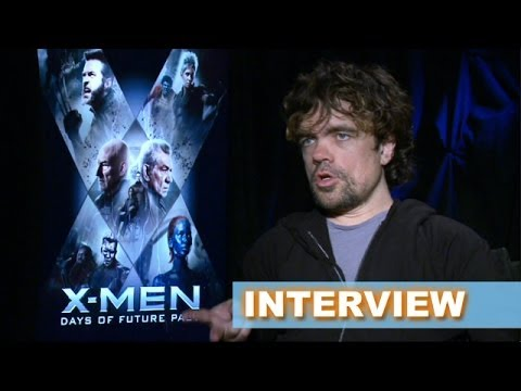 X-Men Days of Future Past Interview Today! Peter Dinklage aka Bolivar Trask - Beyond The Trailer