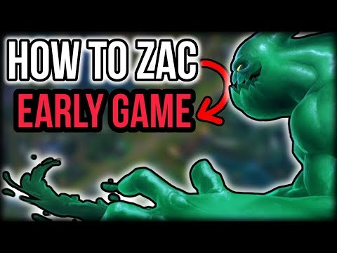 How to Play Zac Jungle (Early Game) - Zac Jungle Guide - League of Legends Zac