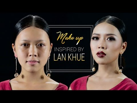 Cô gái hóa thân thành Siêu mẫu Lan Khuê    Mai Phan Makeup