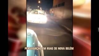 Bandidos fogem de marcha r� em persegui��o policial em Nova Bel�m