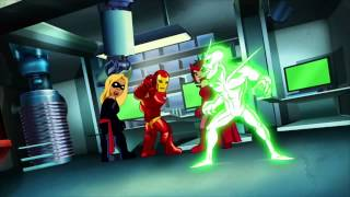 Ultimate Spiderman Fight And Funny Thor Hindi Dubbed