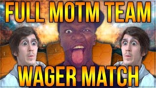 FULL MOTM TEAM ON THE LINE!! (FIFA 14)