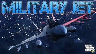 Grand Theft Auto V TRYING TO STEAL A MILITARY JET PS3