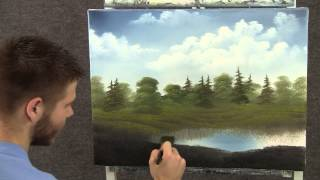 Paint With Kevin Hill Small Cabin By The Pond Wet On Wet