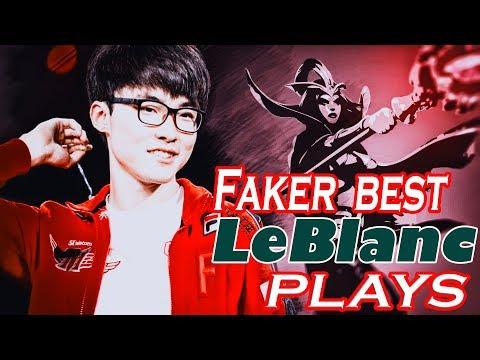 Faker Leblanc Montage-Epic Leblanc Plays [League Of Legends]
