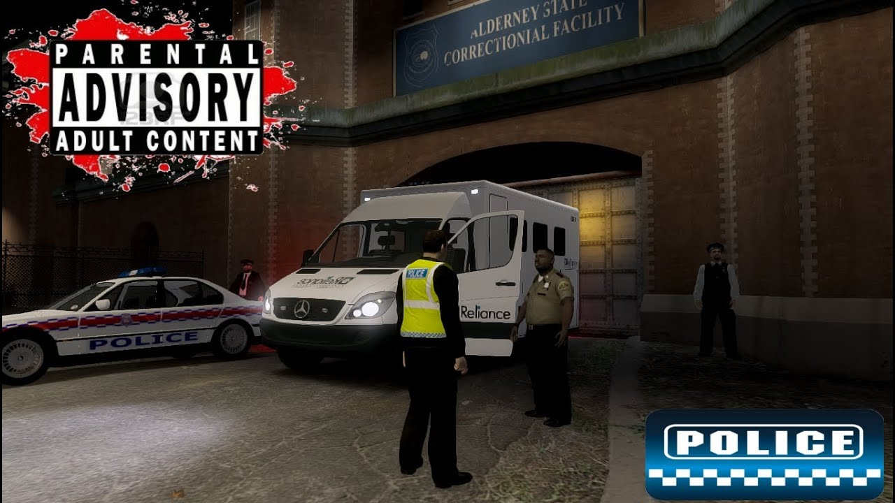 Police patrol 5 pc game police chase arrest interview prison gta