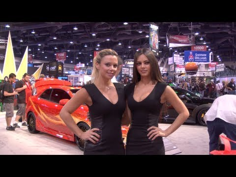 Marvel Avengers Movie Acura car 2012 SEMA AUTO SHOW LAS VEGAS!