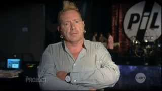 Johnny Rotten Interview on the Project (2013): Australia