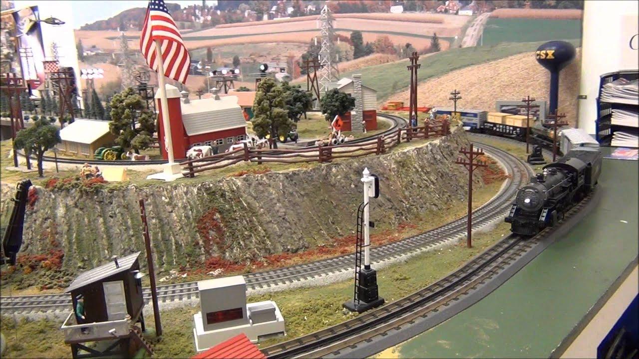 Model train stuff location