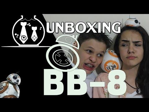 Unbonxing Surpresa - BB8 da Hasbro - o robozinho do Star Wars