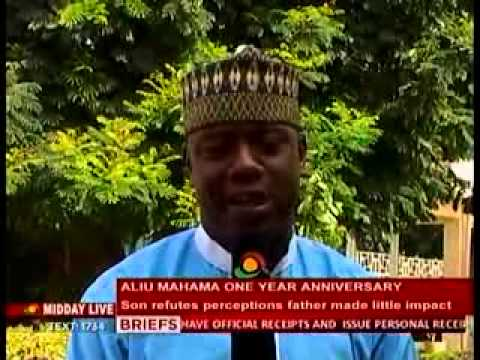 Midday Live: ALIU MAHAMA'S son refutes perceptions that father made little impact 13/11/2013