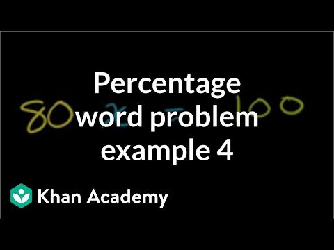 Solving Percent Problems Part 2