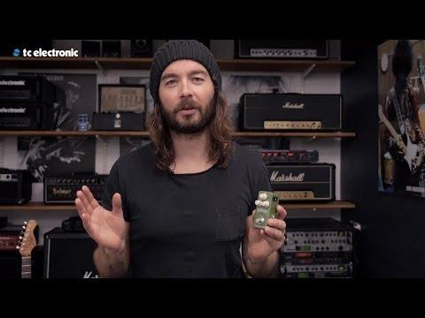 TC Electronic Mini TonePrint Corona Chorus Effects Pedal for Guitar