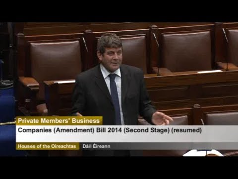 Andrew Doyle TD -  Companies (Amendment) Bill 2014: Second Stage