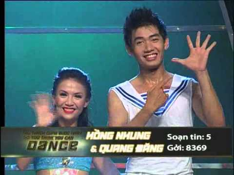 So You Think You Can Dance - Thử Thách Cùng Bước Nhảy - CK3 - Quang Đăng & Hồng Nhung