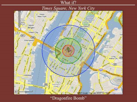 Nuclear Terrorism: What if the 'Dragonfire Bomb' Had Detonated in Times Square?