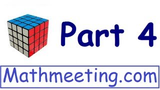How To Solve The 4x4 Rubik's Cube Part 4 Edge Parity