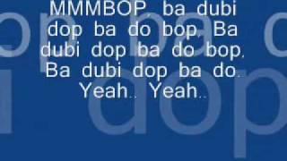 Hanson Mmmbop (Lyrics)