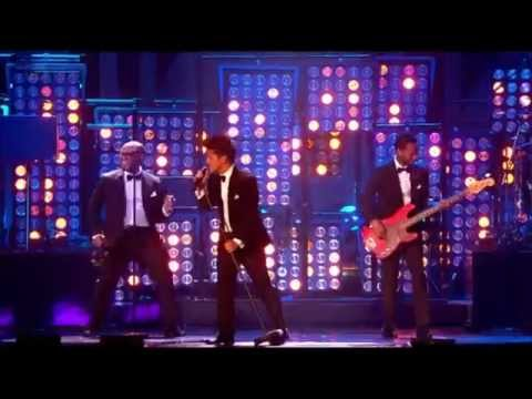 Bruno Mars - Just The Way You Are performance at Brit Awards 2012