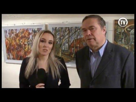 Klaipėdoje atidaryta Viktoro Vitkaus kūrybos darbų paroda