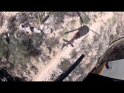 Helmet cam: Ariz. deputies rescue stroke victim from canyon