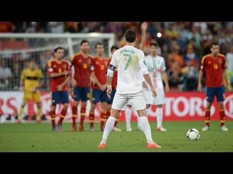 Cristiano Ronaldo TOP 10 Free Kicks Ever | HD