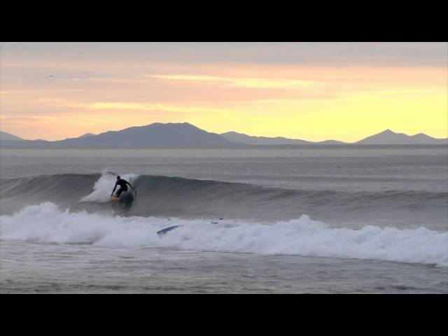 Californian surfers on Kamchatka