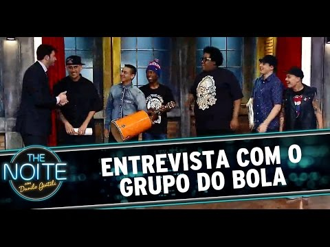 The Noite (17/10/14) - Entrevista Grupo do Bola