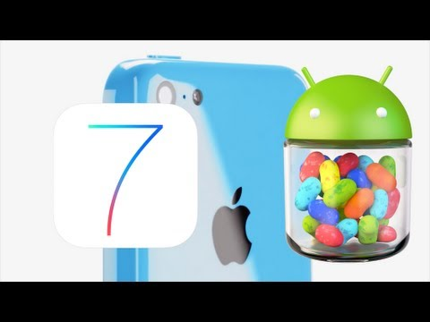 iOS vs Android (Apple iPhone 5c Review) ~5 REASONS IT'S GREAT~5 REASONS TO WAIT~ PHONE WARS 15