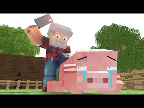 Minecraft - Život prasiatka