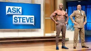 Ask Steve: My husband is out of shape    STEVE HARVEY