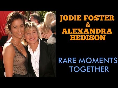 Jodie Foster  & Alexandra  Hedison - Rare Couple Moments Together