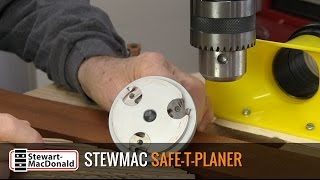 Watch the Trade Secrets Video, StewMac Safe-T-Planer Video