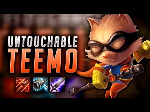 WHO CAN 1V1 THIS ON-HIT TEEMO?! UNTOUCHABLE TEEMO BUILD - League of Legends