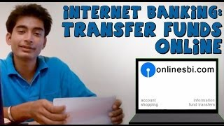 Sbi Online Banking (Part 2) How To Transfer Money To Other
