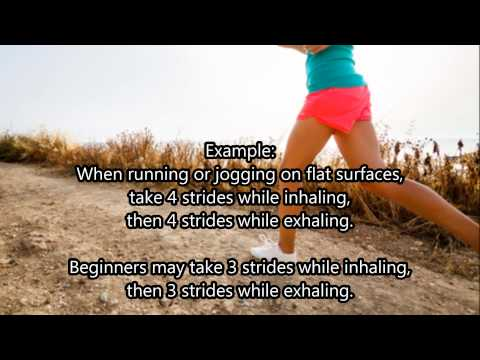 How to Breathe While Running Long Distances, and Jogging - a Practical Method