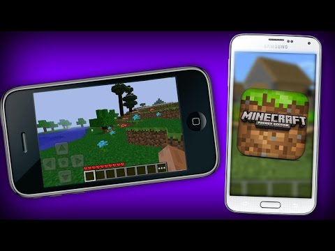 NOVO MINECRAFT DE CELULAR! NOVOS BUGS DO MINECRAFT POCKET EDITION