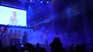 Queen Elsa Conjures Frozen Fireworks At Walt Disney World