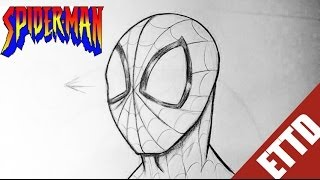 How To Draw Spiderman From Amazing Spider-man Easy