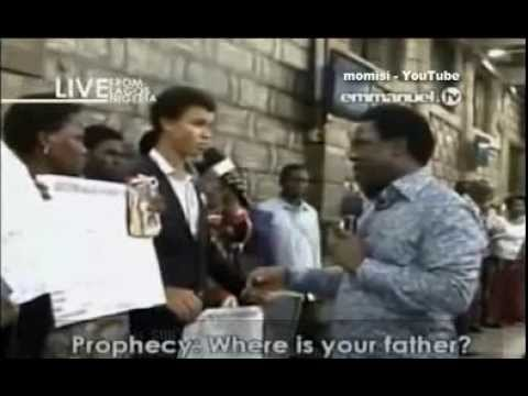 Prophet TB Joshua: Prophecy, Prayer & Deliverance, Sunday 1 Dec 13, Emmanuel TV, SCOAN, Part 2 of 2