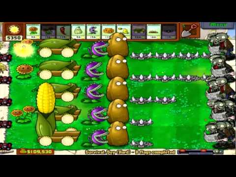 Plants Vs. Zombies Part 35: Super Corn Massacre II